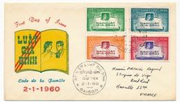 VIET-NAM - FDC - Code De La Famille - Saigon - 2/1/1960 - Vietnam