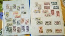 F0252 GROS LOT FEUILLES TCHÉCOSLOVAQUIE NEUFS / OB  A TRIER COTE++ DÉPART 10€ - Stamps