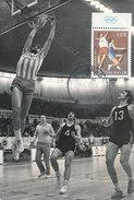 D30995 CARTE MAXIMUM CARD 1972 YUGOSLAVIA - BASKETBALL OLYMPICS CP PHOTOCARD - Basketball