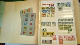 F0254  LOT FEUILLES STOCK RFA A TRIER BELLE COTE DÉPART 10€ - Sammlungen (im Alben)