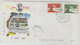 SURINAM FDC 1966 - Suriname