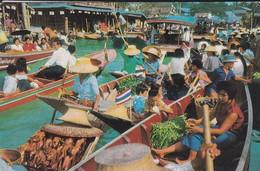ASIE--TAILANDE--BANGKOK--wad Sai Floating Market--voir 2 Scans - Thaïlande