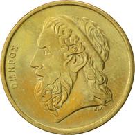 Grèce, 50 Drachmes, 1988, TTB+, Aluminum-Bronze, KM:147 - Grèce