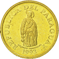 Paraguay, Guarani, 1993, SUP, Brass Plated Steel, KM:192 - Paraguay