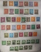 CHINE ANNEE 1939 - 1943 - 50 TIMBRES AVEC CHARNIÈRE SUR PAPIER - VOIR 5 SCANS - 1941-45 Northern China
