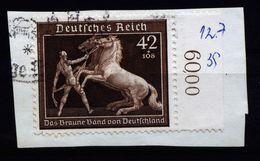 A4742) DR Briefstück Mit Mi.699 Randstück - Deutschland