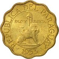 Paraguay, 10 Centimos, 1953, TTB+, Aluminum-Bronze, KM:25 - Paraguay