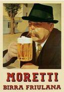 Moretti Birra Friulana - Postcard - Poster Reproduction - Publicité