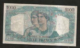 FRANCE - BANQUE De FRANCE - 1000 Francs MINERVE Et HERCULE - (T. 7 - 3 - 1946) - 1871-1952 Antichi Franchi Circolanti Nel XX Secolo