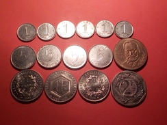 15 MONNAIES Anciennes FRANCAISES 10F 2F Et 1F Commémorratives 1 Et 5 Centimes Voir Années - Commémoratives
