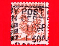 BURMA - Myanmar (Birmania)  - Usato - 1949 - Anniversario Dell'indipendenza - Uccello Mitico - Hamsa - 2 - Myanmar (Burma 1948-...)