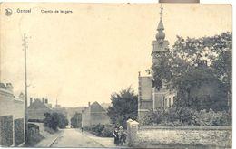 GENVAL 1908 CHEMIN DE LA GARE - Rixensart