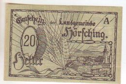 152-Banconote-Carta Moneta Di Emergenza-NOTGELD-Austria-Osterraich-Emergency Money-20 Heller Serie A. - Oostenrijk