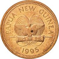 Papua New Guinea, Toea, 1995, SUP, Bronze, KM:1 - Papouasie-Nouvelle-Guinée