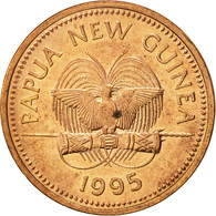 Papua New Guinea, Toea, 1995, SUP, Bronze, KM:1 - Papoea-Nieuw-Guinea
