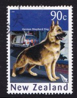 New Zealand 2006 Year Of The Dog 90c German Shepherd Used - - New Zealand