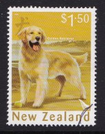 New Zealand 2006 Year Of The Dog $1.50 Retriever Used - - New Zealand