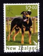 New Zealand 2006 Year Of The Dog $2 Huntaway Used - - New Zealand