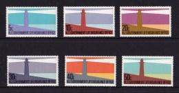 New Zealand 1981 Lighthouses Set Of 6 MNH - New Zealand