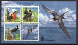 Christmas Island 2010 Frigatebird Souvenir Sheet CTO - Christmas Island