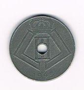 ¨ LEOPOLD  III   10 CENTIEM  1945   VL/FR - 02. 10 Centimes