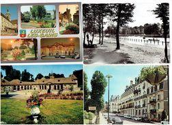 LOT 4 Cpm - 70 -  Luxeuil Les Bains - Multivues - VOITURE 404 PEUGEOT - Luxeuil Les Bains