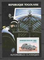 Togo 1984 Mi Block 254 MNH CARS - Cars
