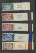 1948  ISRAEL  10/14 Full Tab **  Cote 550 Euros       Nouvel An 5709 - Nuevos (con Tab)