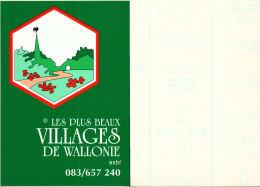 AUTOCOLLANT - Les Plus Beaux Villages De Wallonie ASBL - Autocollants