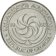 Géorgie, 5 Thetri, 1993, SUP, Stainless Steel, KM:78 - Géorgie