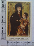 D878 - Santino Holy Card Salus Populi Romani Ss.Vergine Immacolata - Images Religieuses