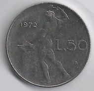 Italia Repubblica - 50 Lire 1972 R - 1946-… : República