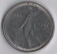 Italia Repubblica - 50 Lire 1984 R - 1946-… : República