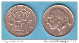 LOT N° 0202 *BAUDOUIN*50 CENTIMES*1955 (FR) - 1951-1993: Boudewijn I