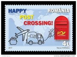 Romania 2017 Mih. 7184 Postcrossing MNH ** - 1948-.... Républiques
