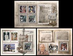 S. TOME & PRINCIPE 2007 - Prado: Picasso - YT 2342-5 + BF403 + Deluxe Sheet - Picasso