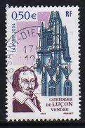 """FRANCE : N° 3712 Oblitéré """"TàD Rond"""" (Cathédrale De Luçon -Vendée- Et Richelieu) - PRIX FIXE - - France"""