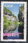 """FRANCE : N° 3704 Oblitéré (""""La France à Voir"""" : Les Gorges Du Tarn) - PRIX FIXE - - France"""