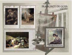 S. TOME & PRINCIPE 2007 - F. De Goya: Napoleonic Wars - Sc 1735b - Napoléon