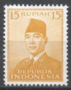 Indonesia 1953. Scott #396 (MNH) President Sukarno, Président - Indonésie