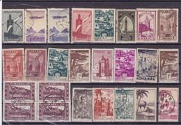 MAROC : Y&T : Lot De 50 Timbres Oblitérés - Maroc (1956-...)