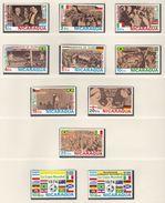 Football / Soccer / Fussball - WM 1974:  Nicaragua  11 W ** - 1974 – West Germany