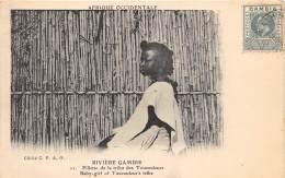 GAMBIE / Fillette De La Tribu Des Toucouleurs - Gambia