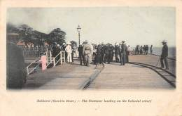 GAMBIE / Bathurst - The Governor Landing On The Colonial Wharf - Beau Cliché Animé Et Colorisé - Gambie