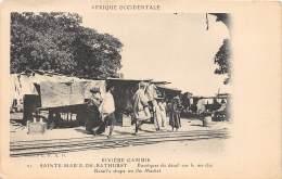 GAMBIE / Sainte Marie De Bathurst - Boutiques De Détail Sur Le Marché - Gambie