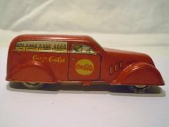 VOITURE COCA COLA En TOLE - Toy Memorabilia