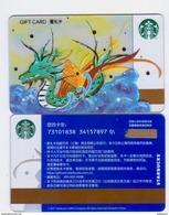 China 2017 Starbucks Card Dragon Boat Festival Gift Card (100 RMB) - Chine