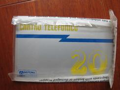 Sistema Telebras Numeral 20, Mint In Blister, 50000 Pieces - Brasil