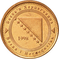 BOSNIA-HERZEGOVINA, 20 Feninga, 1998, British Royal Mint, SUP, Copper Plated - Bosnie-Herzegovine