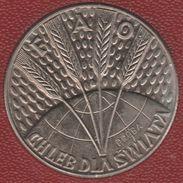 POLAND 10 ZLOTYCH 1971 FAO Trial Strike PROBA  KM# Pr187 - Poland